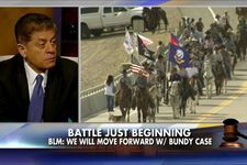 """Judge Napolitano: 'I Was Shocked to See That the BLM Has Armed Troops'   The BLM is not a military or a law enforcement entity. I was shocked to see that they even have troops, dressed in camouflage and with M16's. It really looked like they were fighting a war against a foreign invader rather than enforcing a judgment against an American,"""" said Napolitano, adding that the federal government cannot claim to have been respecting the First Amendment in this case -"""