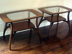 MidCentury Modern Tables by greymaggy on Etsy, $799.95