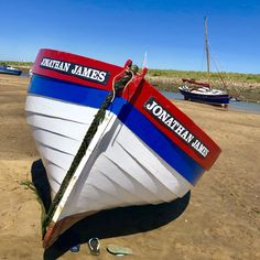 Low tide at Bur Overy Staithe, amazing bright colours, we've just been having such amazing weather and ideal at low tide as the dog can splash around and keep cool!! Book your dog and child friendly holiday in North Norfolk now - link in bio