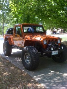 Custom Jeep Truck. All i can say is wow!