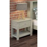 Found it at Temple & Webster - Beaches Bedside 1 Drawer & Shelf Bedside, Nightstand, Drawer Shelves, Shelf, Bedroom Furniture Online, Temple, Drawers, New Homes, Beaches