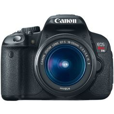 Canon EOS Rebel T4i 18.0 MP CMOS Digital SLR with 18-55mm EF-S IS II Lens - http://allgoodies.net/canon-eos-rebel-t4i-18-0-mp-cmos-digital-slr-with-18-55mm-ef-s-is-ii-lens/