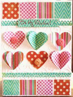 Be My Valentine - Scrapbook.com  Terri-  i love your cards!!!!!!!!!!