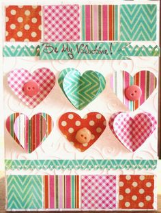Be My Valentine - Scrapbook.com  Terri-  i love your cards!!!!!!!!!!