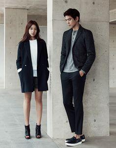 Two, New Mind Bridge Fall 2015 Ads Feat. Park Shin Hye & Sung Joon | Couch Kimchi
