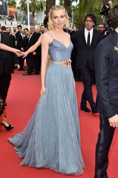 Sienna Miller wearing Gucci at the Cannes Film Festival in 2015