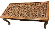 ANTIQUE-COFFEE-TABLE-LATTICE-HAND-CARVING-TEAK-WOOD-TABLE-HOME-FURNITURE  http://stores.ebay.com/mogulgallery/Tables-Benches-/_i.html?_fsub=1109606319&_sid=3781319&_trksid=p4634.c0.m322