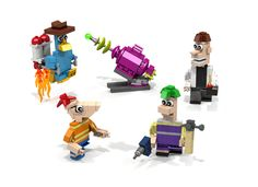 Phineas and Ferb lego ideas