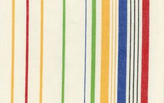 Kitchen towels can now be made by you and it's so fun and easy! This fabric is a natural colored Kitchen towel fabric with multicolored stripes that makes making your own towels simple as can be.