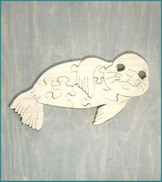 This handcrafted wooden puzzle is sure to be a hit with your little one! Help them practice their skills on this baby seal shaped puzzle. --- Puzzles are crafted by featured maker {Gramps Woodshop} in Virginia and 15% of proceeds goes to Lucy's Love Bus. #madeinusa #madeinvirginia