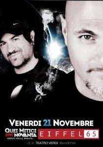 Eiffel 65 live @ Teatro Verdi http://www.nottiromagnole.it/?p=13898