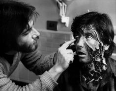 An American werewolf in London - Rick Baker was very unhappy with this makeup, whereas i would be exstatic
