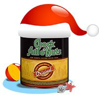 Christmas in July with Chock full o'Nuts!