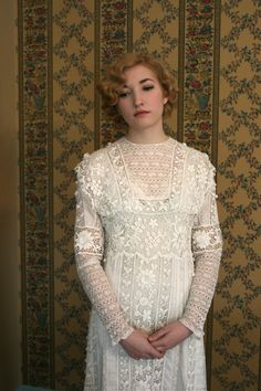 Exquisite 1900s 1910s Edwardian White Cotton by adelinesattic, $1200.00
