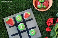 Painted Rock Tic-Tac-Toe - Fun Family Crafts
