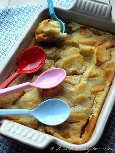 Clafoutis aux pommes et à la fève tonka {sans gluten, sans lactose}