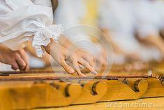 Hands on Ethnic instrument Titera