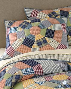 Get ready to make quilts using shirts.