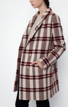 Nanushka Marvel coat on THE-ACEY.COM