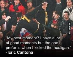 Footballing legend.