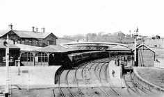 Bishop Auckland Station.