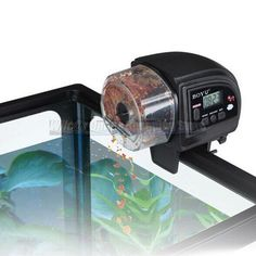 Programmable Automatic Fish Food Feeder Aquarium Tank Equipment Timer Everyday.