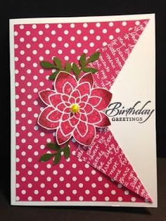 Crazy about You, Peek-a-boo Technique Card, Birthday Card, Stampin' Up!, Rubber Stamping, Handmade Cards, Stamping Tutorial