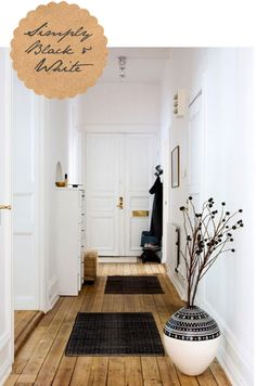 Birch   Bird Vintage Home Interiors » Blog Archive » Keeping it Simple with Black   White