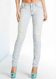 Vigold Light Destructed Skinny Jean