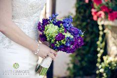 #bridal #bouquet #purple #blue #green More wedding ideas at www.facebook.com/villasiena