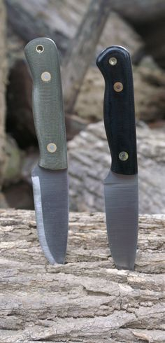 Brumby - Blind Horse Knives. This knife has a 3 3/4 inch cutting edge done in 01 tool steel in flat grind.