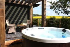 The Chilterns View  |  Luxury Lodges over-looking the Chiltern Hills #cool