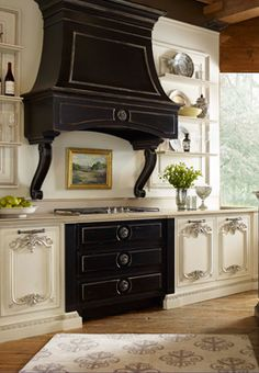 Our dream kitchen inspired by Biltmore House in Asheville, NC. Custom kitchen cabinetry designed exclusively for Biltmore by Habersham. #BiltmoreForYourHome