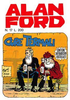 Alan Ford17 - settembre 1970 - Cure termali  - Soggetto e SceneggiaturaMax Bunker - matiteMagnus - chineGiovanni Romanini - Copertina Magnus