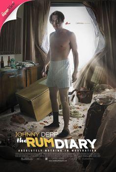 johnny depp movie posters | rum diary movie poster johnny depp from £ 4 99 poster from the movie ...