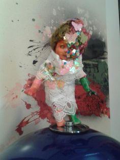 dolls weird look new glam strange fairy mariposas flowers butterflies