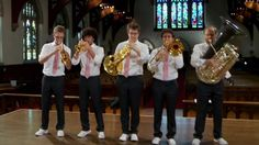 Amazing ways different instruments sound as they play Flight Of The Bumblebee - Canadian Brass. These guys are amazing