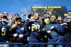 With 56 teams holding National Championships, 314 Individual National Titles, and 395 Big Ten Championships, U-M athletics are admired nationwide and that culture of excellence permeates throughout Ann Arbor, MI Michigan Wolverines Football, Football Team, Charles Woodson, Athletic Events, Polo Match, Michael Phelps, University Of Michigan, Go Blue, National Championship