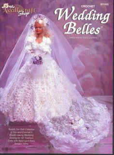 Barbie, Fashion Doll Crochet, WEDDING BELLES, pattern