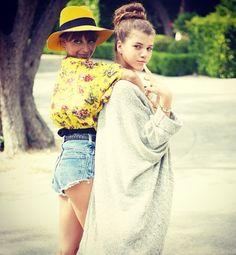 Aww sister love <3 [Nicole and Sofia Richie]