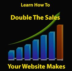 Part of our SEO Training is to teach our clients how to double the sales of their website without any hassle.  http://rapidseoexpert.com/seo-training/