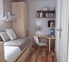 Michelle - Blog #Beautifull #small #bedroom  Fonte : http://ideas-icio.ru/image.php?id=327329