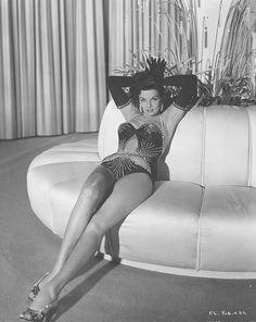 Jane Russell - Love the beading design.
