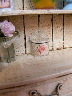 Salt Cellar for Dollhouse Miniature by MiniEdenTienda on Etsy, €6.00
