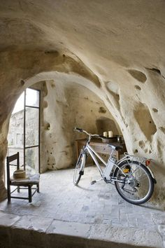 cave-like dwelling