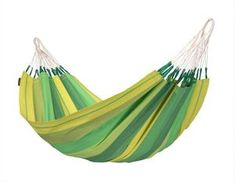 LA SIESTA Orquidea Jungle Fabric Hammock at Lowe's. Comfortable single Orquídea Jungle hammock – the vivid green shade of a tropical rainforest. Produced in Colombia from pure, high-quality cotton. Outdoor Hammock, Hammock Chair, Hanging Chair, Indoor Outdoor, Fabric Material, Woven Fabric, Jungle Hammock, Hammock Accessories, Camping Accessories