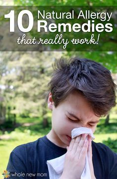 Allergies have been a huge problem for most of my life – but not anymore! Here's 10 natural allergy remedies that have greatly improved my and my family's life!