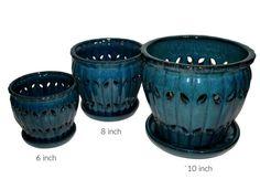 6 Orchid Pot Orchids Ceramic Pots