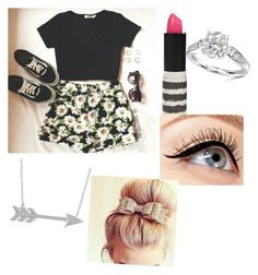 """""""Untitled #55"""" by mariakan ❤ liked on Polyvore featuring beauty, Topshop, Allurez and Luminess Air"""