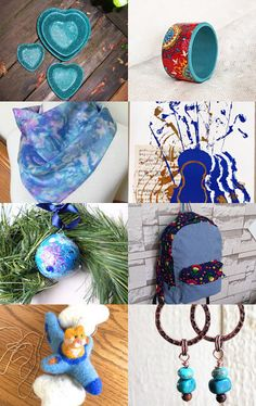 My Blue Collection  by ezgi özkara on Etsy--Pinned with TreasuryPin.com